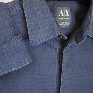 Armani Exchange Slim Fit Button Up